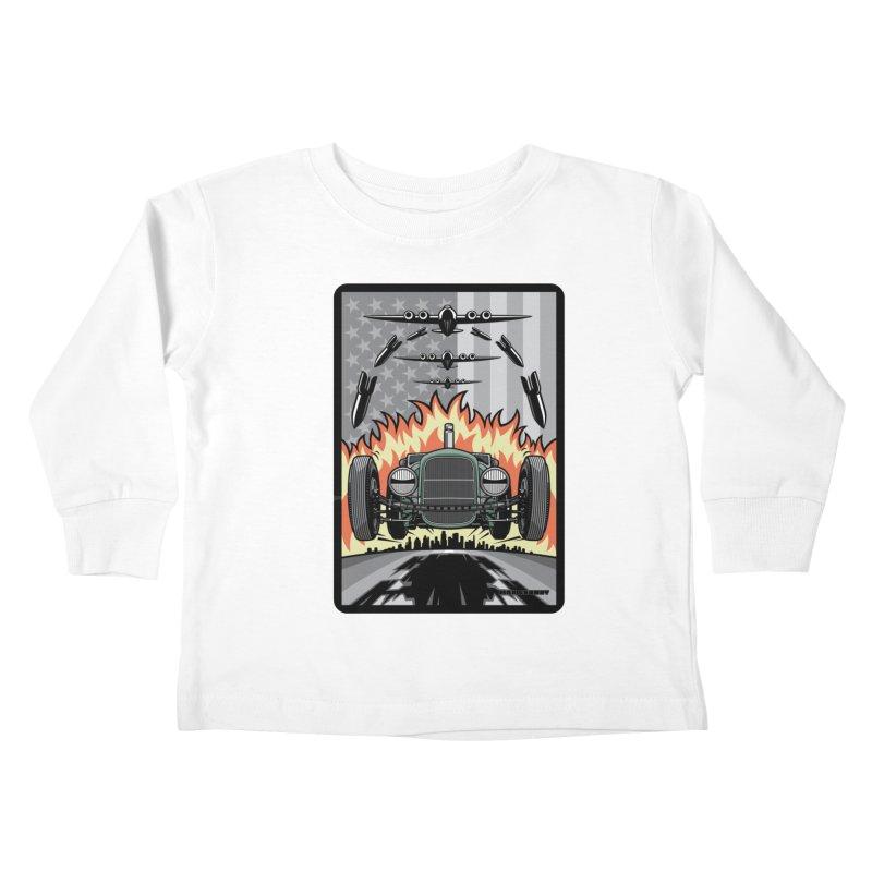THE GREEN AGENDA (original version) Kids Toddler Longsleeve T-Shirt by Max Grundy Design's Artist Shop