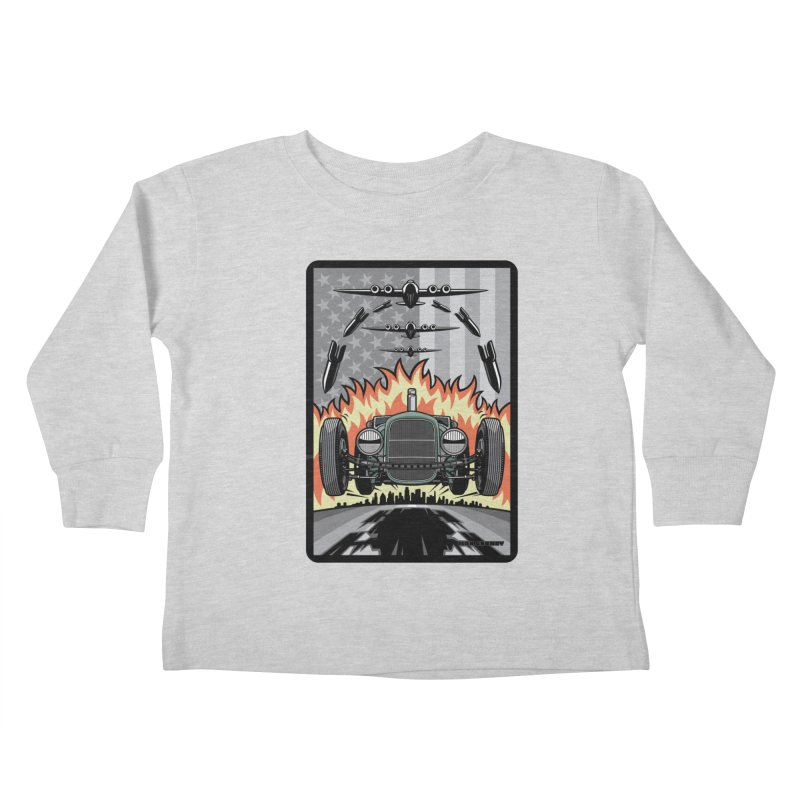 THE GREEN AGENDA (original version) Kids Toddler Longsleeve T-Shirt by Max Grundy Design's Artist Shop