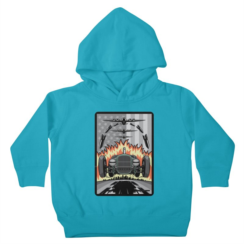 THE GREEN AGENDA (original version) Kids Toddler Pullover Hoody by Max Grundy Design's Artist Shop