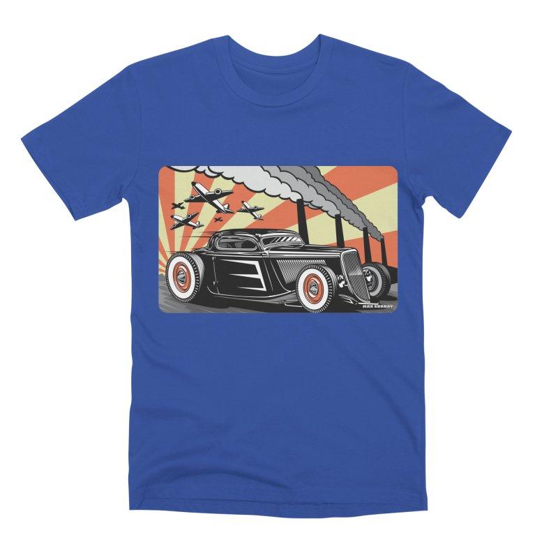 RED DAWN Men's Premium T-Shirt by Max Grundy Design's Artist Shop