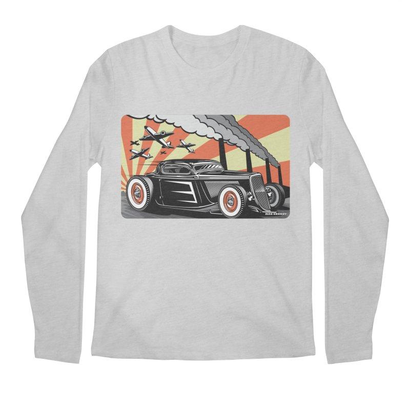 RED DAWN Men's Regular Longsleeve T-Shirt by Max Grundy Design's Artist Shop