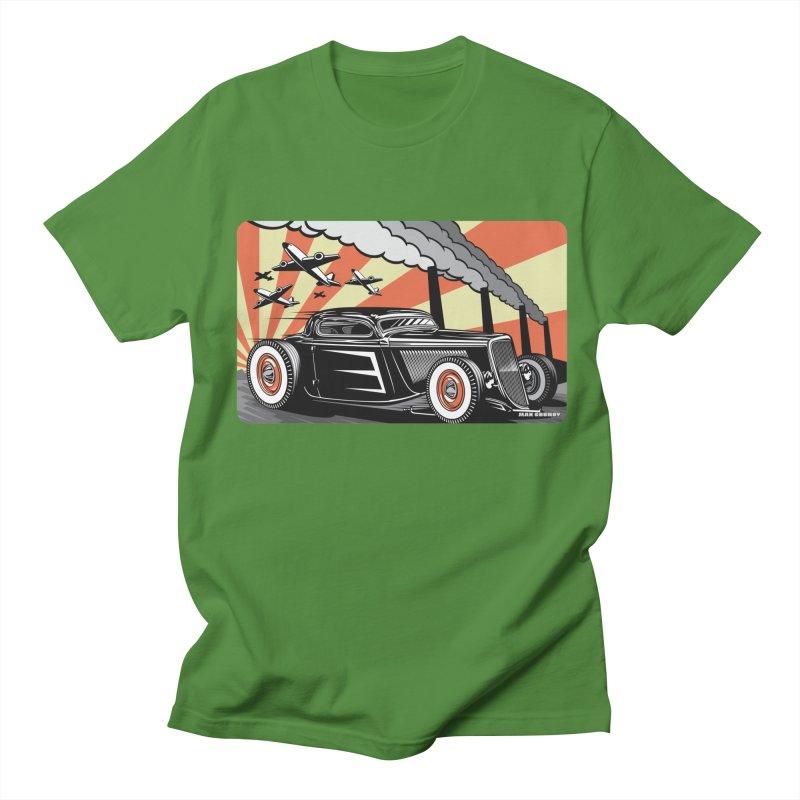 RED DAWN Men's Regular T-Shirt by Max Grundy Design's Artist Shop