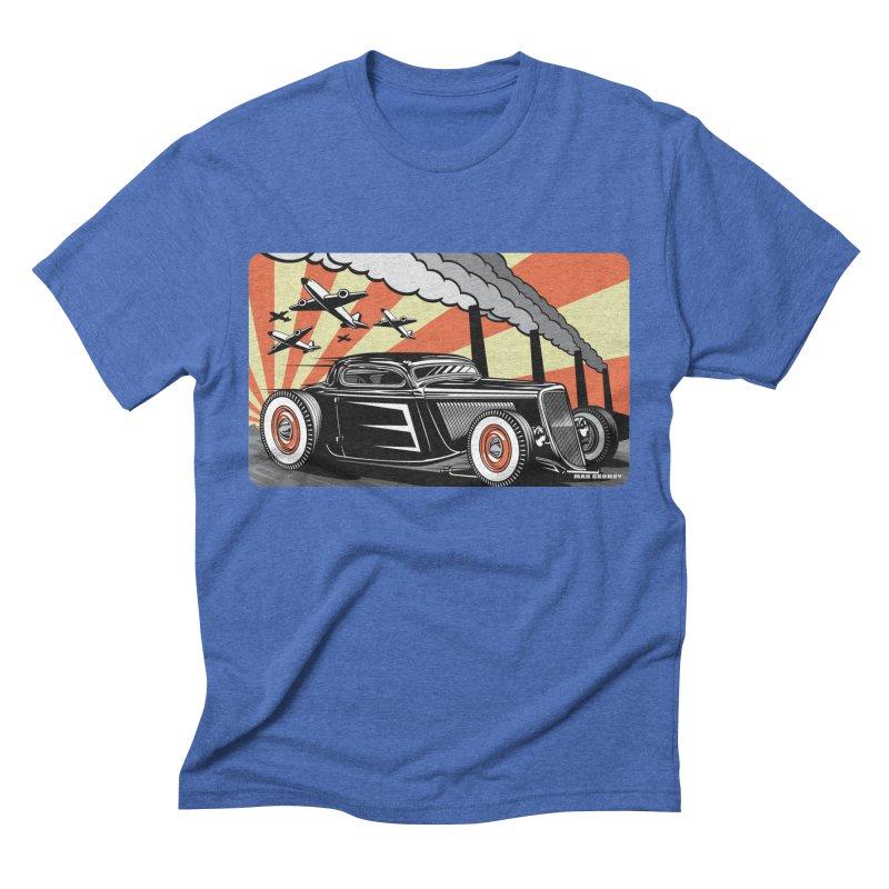 RED DAWN Men's Triblend T-Shirt by Max Grundy Design's Artist Shop