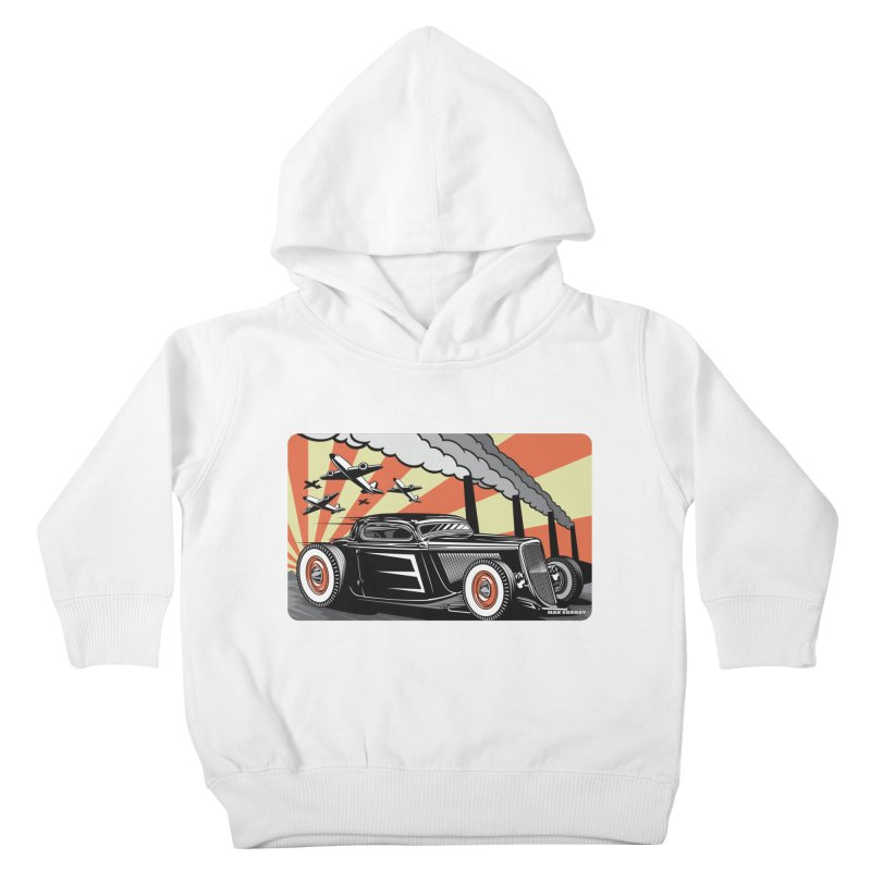 RED DAWN Kids Toddler Pullover Hoody by Max Grundy Design's Artist Shop