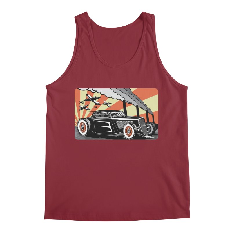 RED DAWN Men's Regular Tank by Max Grundy Design's Artist Shop
