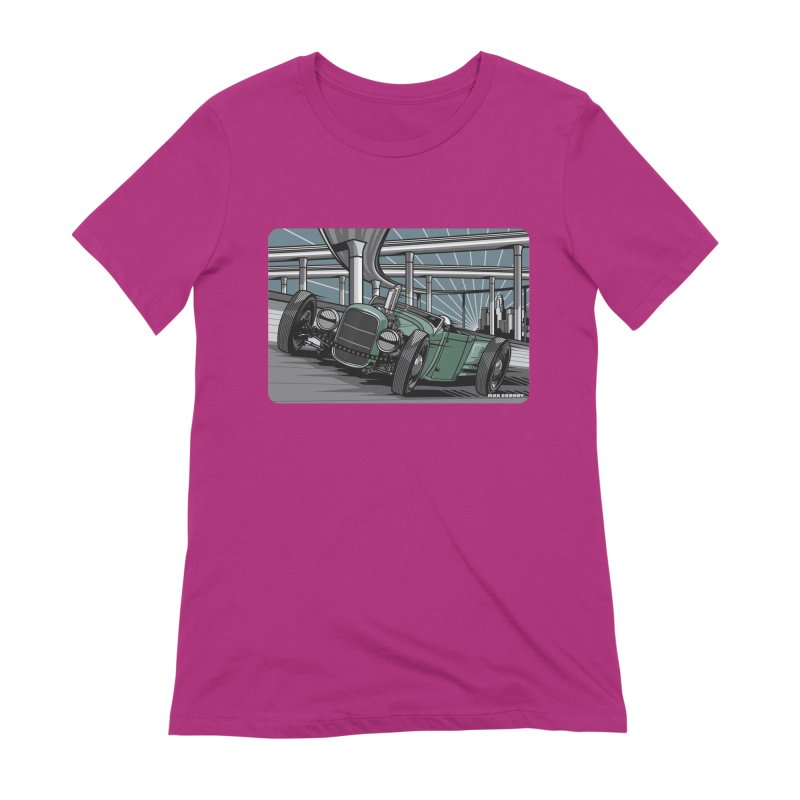 UNDERPASS Women's Extra Soft T-Shirt by Max Grundy Design's Artist Shop