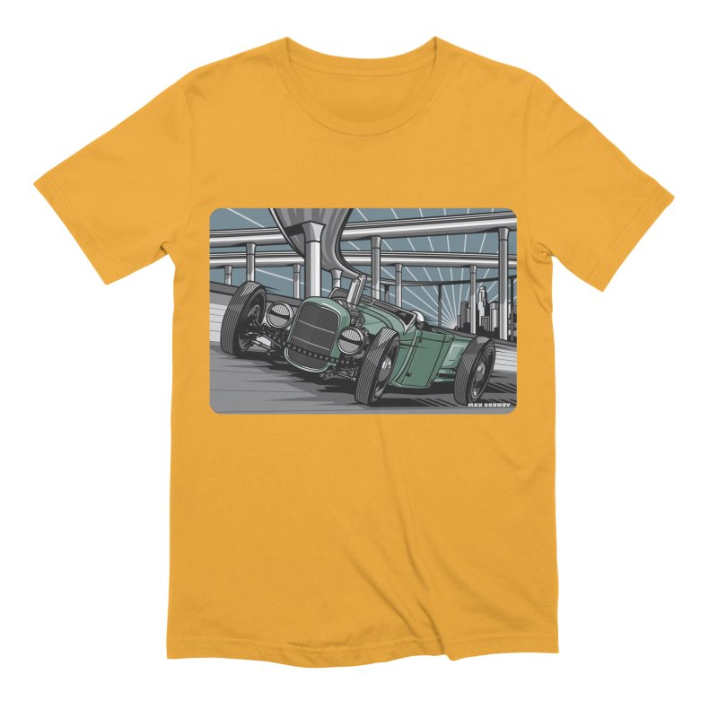 UNDERPASS Men's Extra Soft T-Shirt by Max Grundy Design's Artist Shop