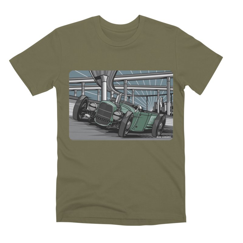 UNDERPASS Men's Premium T-Shirt by Max Grundy Design's Artist Shop