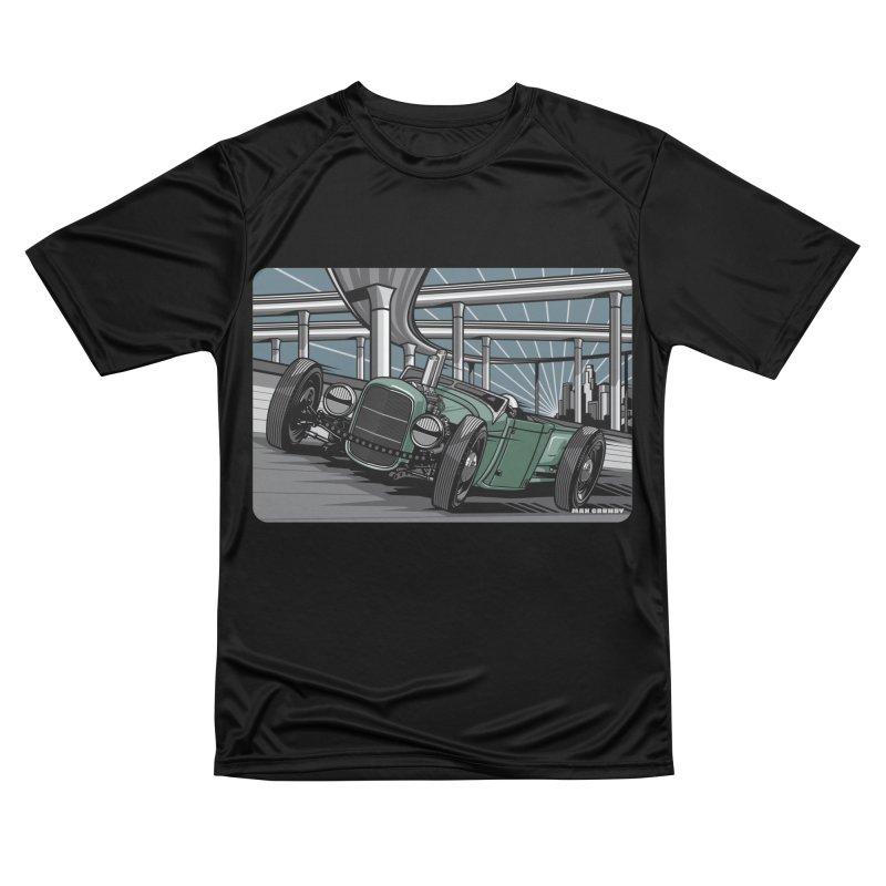 UNDERPASS Men's Performance T-Shirt by Max Grundy Design's Artist Shop