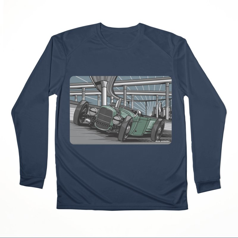 UNDERPASS Men's Performance Longsleeve T-Shirt by Max Grundy Design's Artist Shop