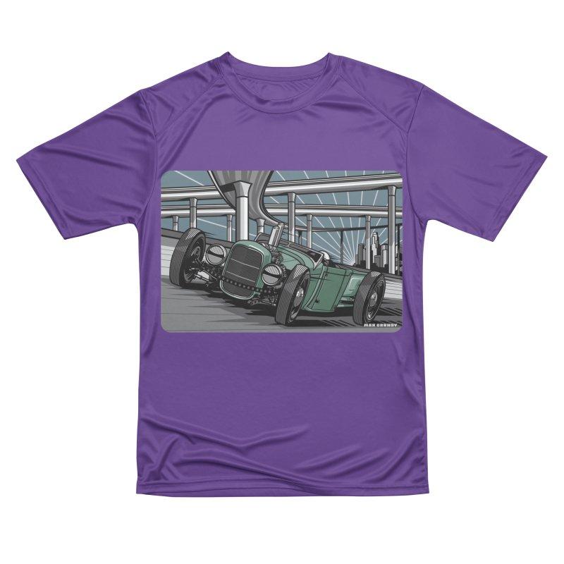 UNDERPASS Women's Performance Unisex T-Shirt by Max Grundy Design's Artist Shop