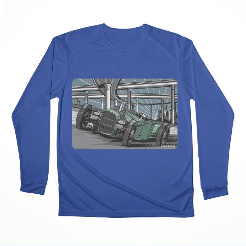 UNDERPASS Women's Performance Unisex Longsleeve T-Shirt by Max Grundy Design's Artist Shop