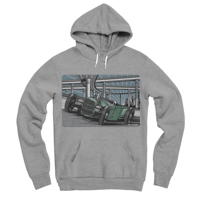 UNDERPASS Men's Sponge Fleece Pullover Hoody by Max Grundy Design's Artist Shop