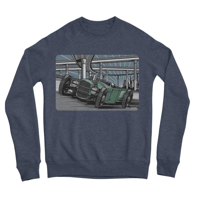 UNDERPASS Men's Sponge Fleece Sweatshirt by Max Grundy Design's Artist Shop