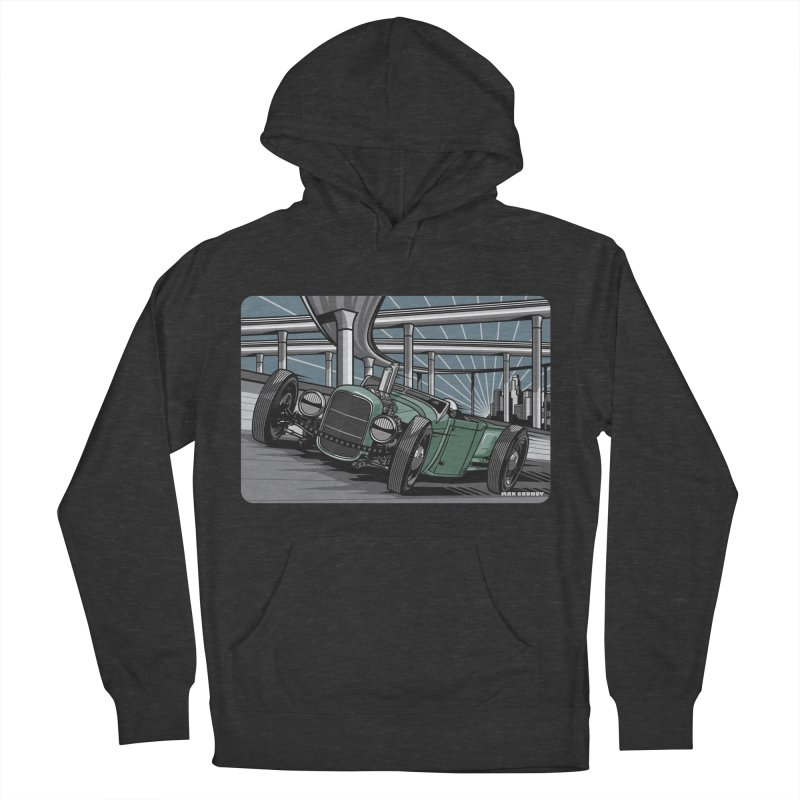 UNDERPASS Women's French Terry Pullover Hoody by Max Grundy Design's Artist Shop