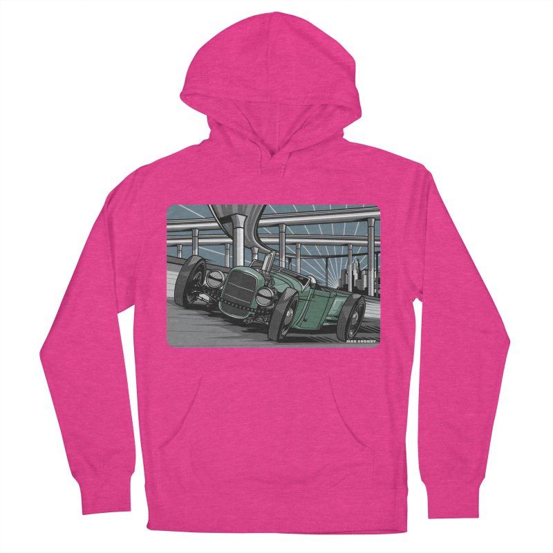 UNDERPASS Men's French Terry Pullover Hoody by Max Grundy Design's Artist Shop