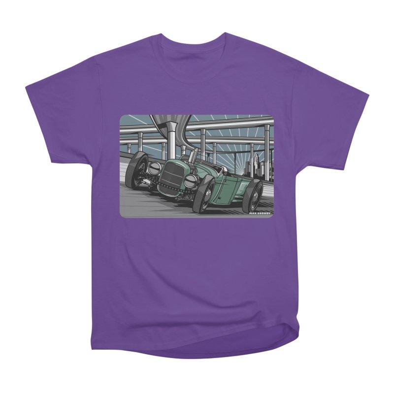 UNDERPASS Men's Heavyweight T-Shirt by Max Grundy Design's Artist Shop