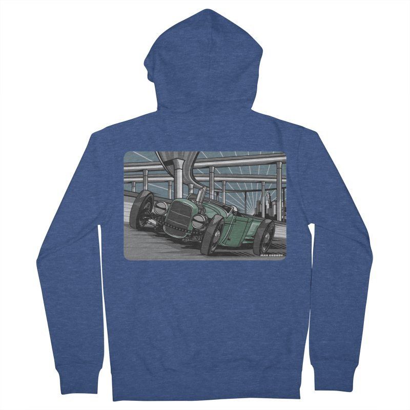 UNDERPASS Women's French Terry Zip-Up Hoody by Max Grundy Design's Artist Shop