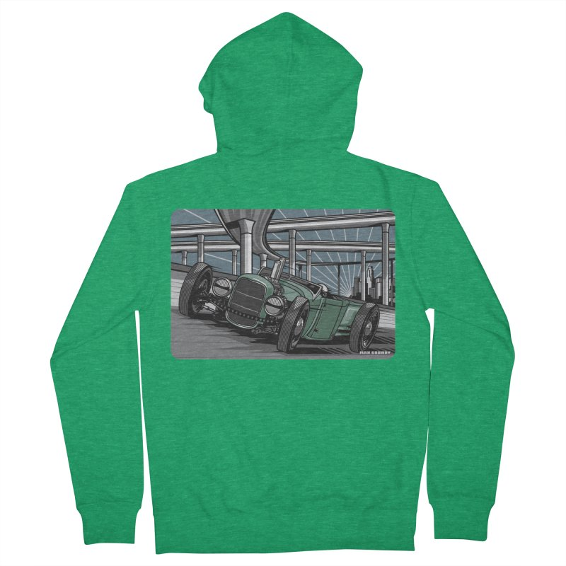UNDERPASS Men's French Terry Zip-Up Hoody by Max Grundy Design's Artist Shop