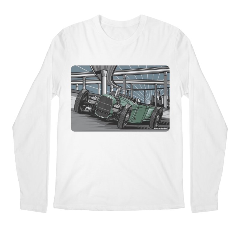 UNDERPASS Men's Regular Longsleeve T-Shirt by Max Grundy Design's Artist Shop