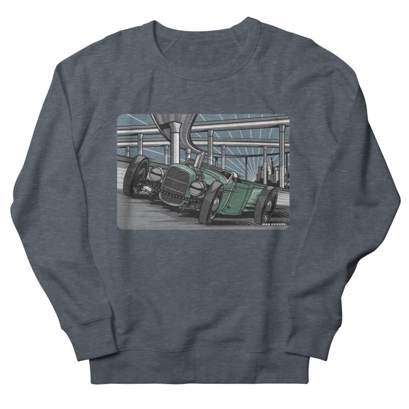 UNDERPASS Women's French Terry Sweatshirt by Max Grundy Design's Artist Shop