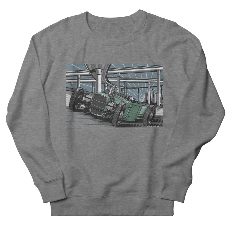 UNDERPASS Men's French Terry Sweatshirt by Max Grundy Design's Artist Shop