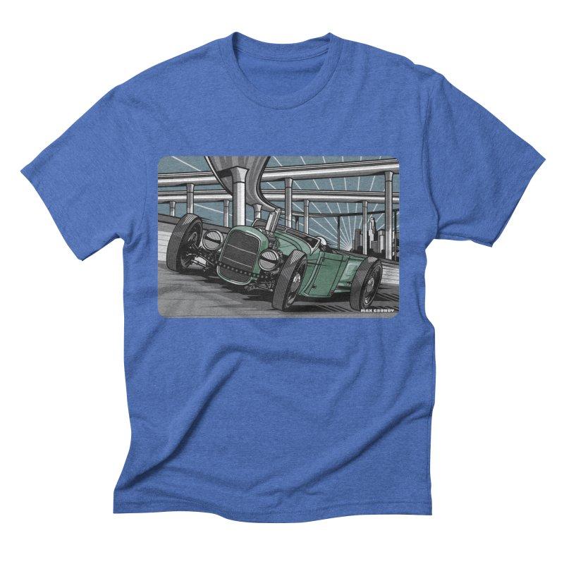 UNDERPASS Men's Triblend T-Shirt by Max Grundy Design's Artist Shop