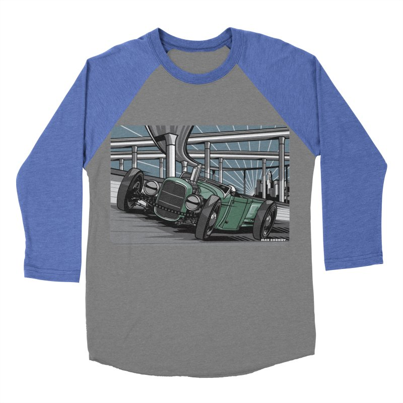 UNDERPASS Men's Baseball Triblend Longsleeve T-Shirt by Max Grundy Design's Artist Shop