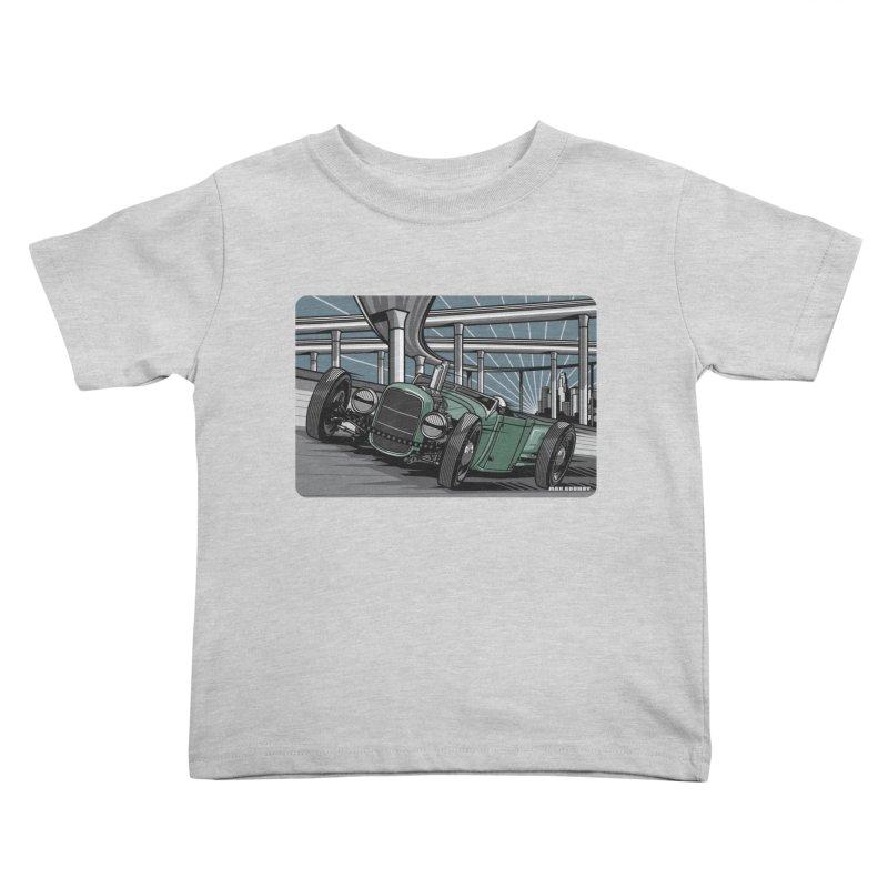 UNDERPASS Kids Toddler T-Shirt by Max Grundy Design's Artist Shop