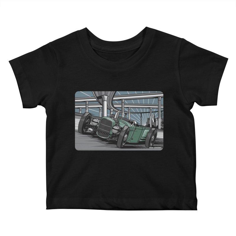 UNDERPASS Kids Baby T-Shirt by Max Grundy Design's Artist Shop