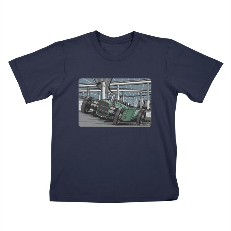 UNDERPASS Kids T-Shirt by Max Grundy Design's Artist Shop