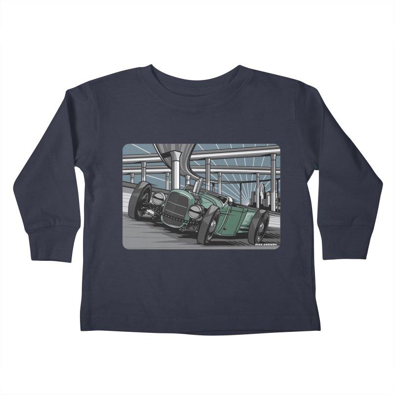 UNDERPASS Kids Toddler Longsleeve T-Shirt by Max Grundy Design's Artist Shop