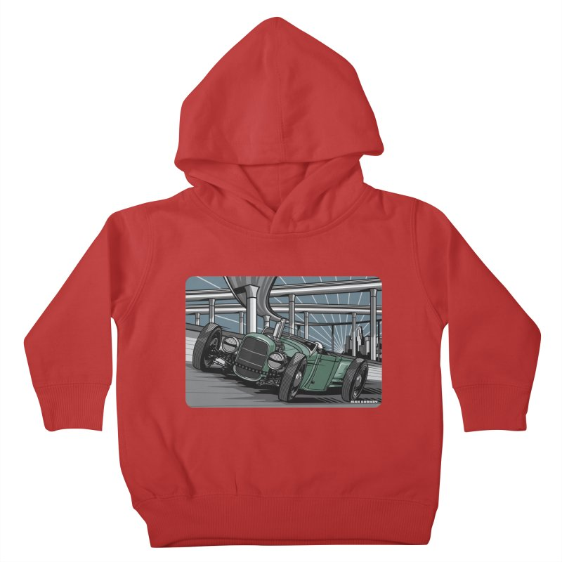 UNDERPASS Kids Toddler Pullover Hoody by Max Grundy Design's Artist Shop