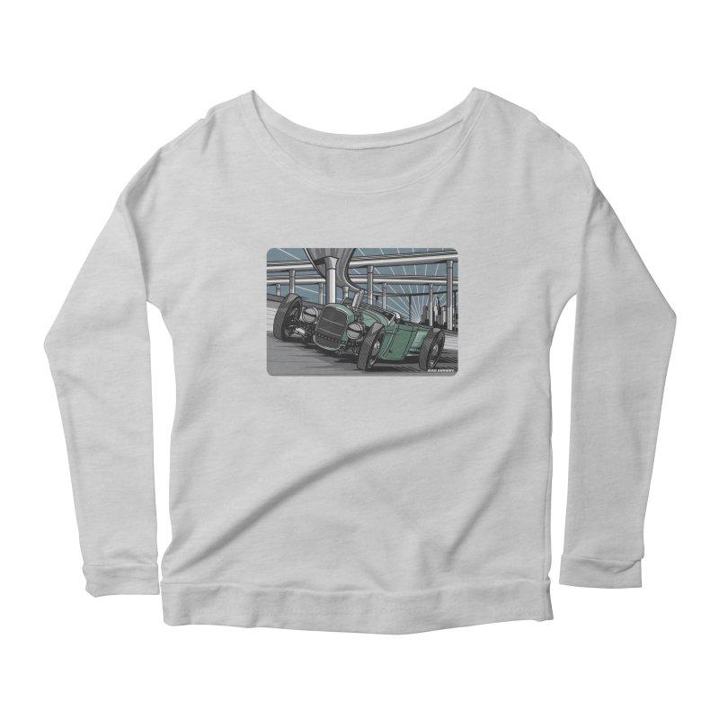 UNDERPASS Women's Scoop Neck Longsleeve T-Shirt by Max Grundy Design's Artist Shop