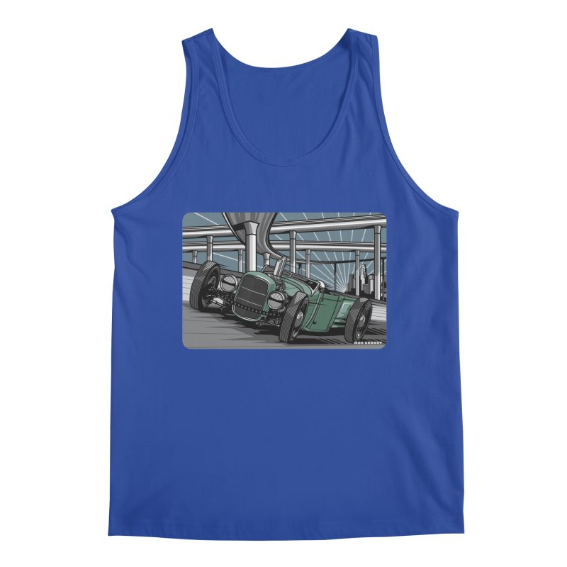 UNDERPASS Men's Regular Tank by Max Grundy Design's Artist Shop