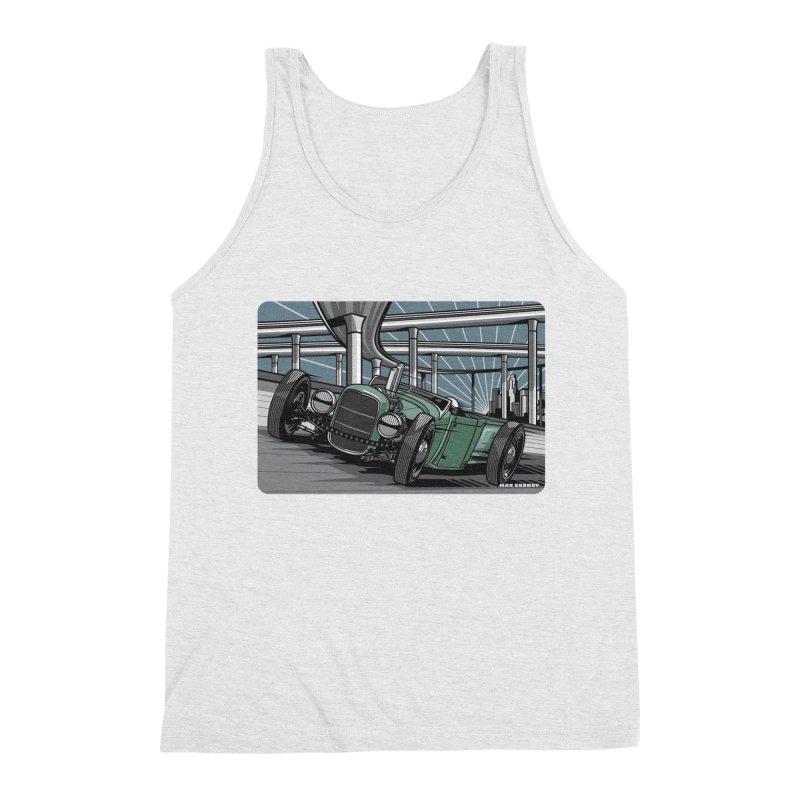 UNDERPASS Men's Triblend Tank by Max Grundy Design's Artist Shop