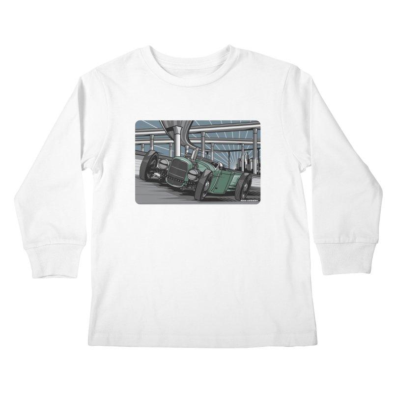 UNDERPASS Kids Longsleeve T-Shirt by Max Grundy Design's Artist Shop
