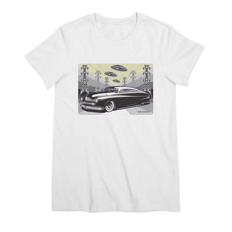 VIVA LAS WASTELAND Women's Premium T-Shirt by Max Grundy Design's Artist Shop