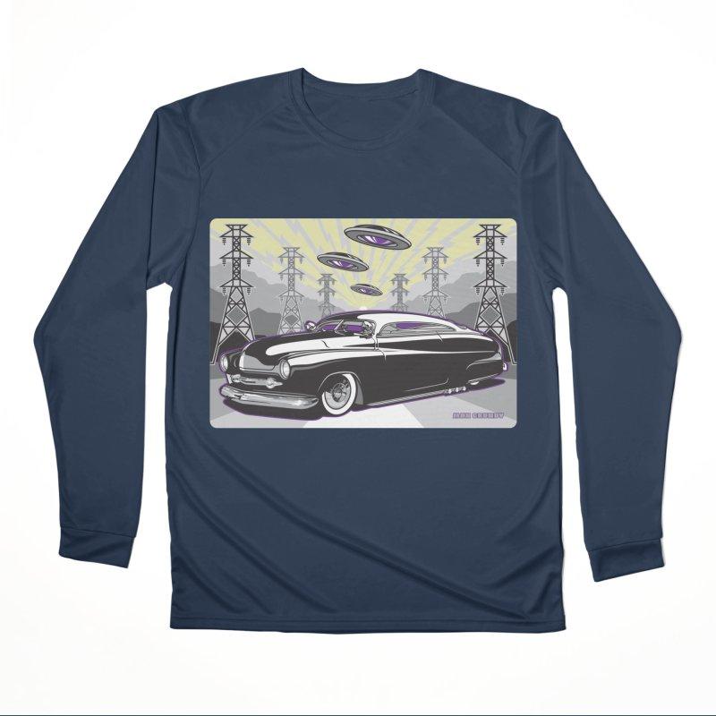 VIVA LAS WASTELAND Women's Performance Unisex Longsleeve T-Shirt by Max Grundy Design's Artist Shop