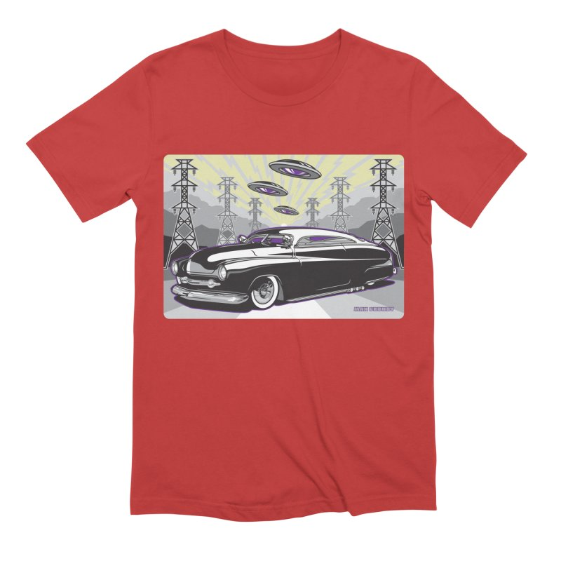 VIVA LAS WASTELAND Men's Extra Soft T-Shirt by Max Grundy Design's Artist Shop
