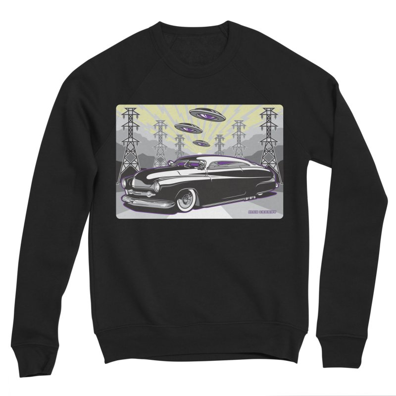 VIVA LAS WASTELAND Men's Sponge Fleece Sweatshirt by Max Grundy Design's Artist Shop