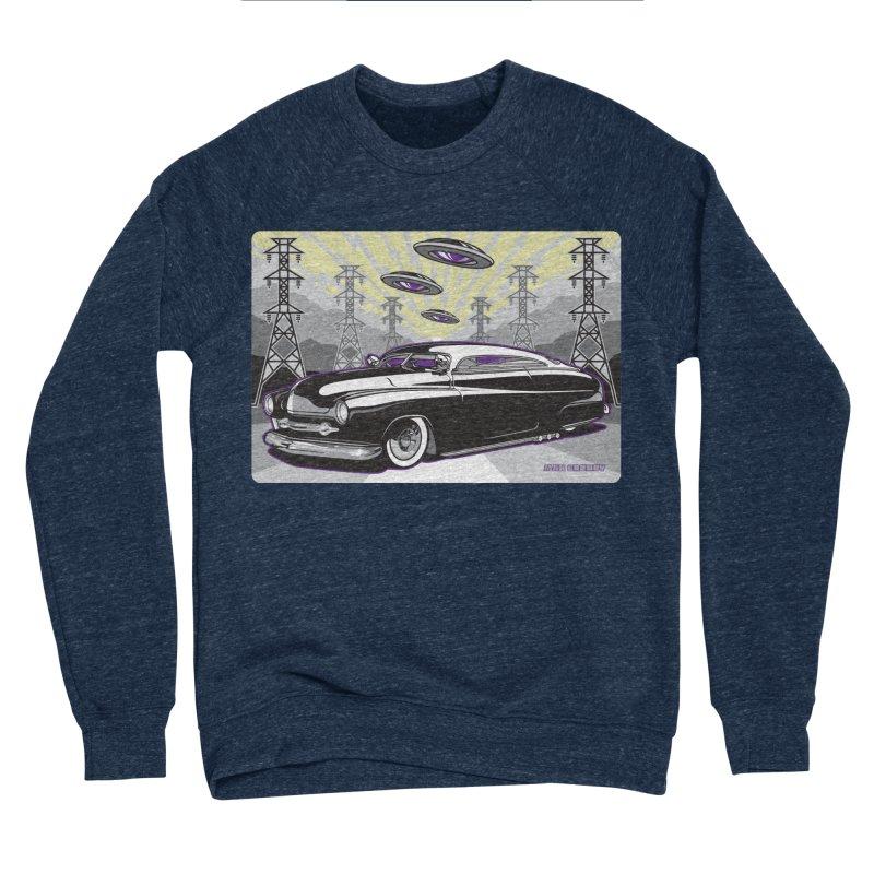 VIVA LAS WASTELAND Women's Sponge Fleece Sweatshirt by Max Grundy Design's Artist Shop