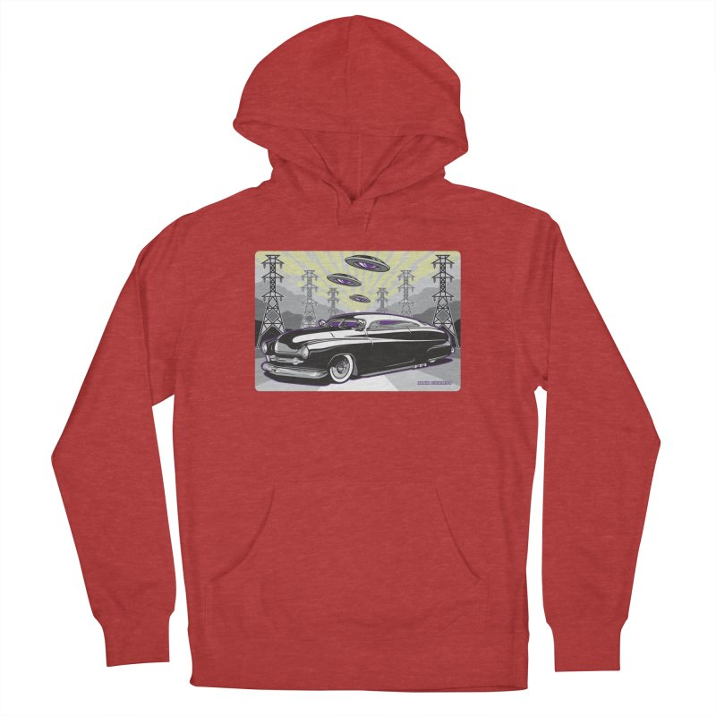 VIVA LAS WASTELAND Men's French Terry Pullover Hoody by Max Grundy Design's Artist Shop