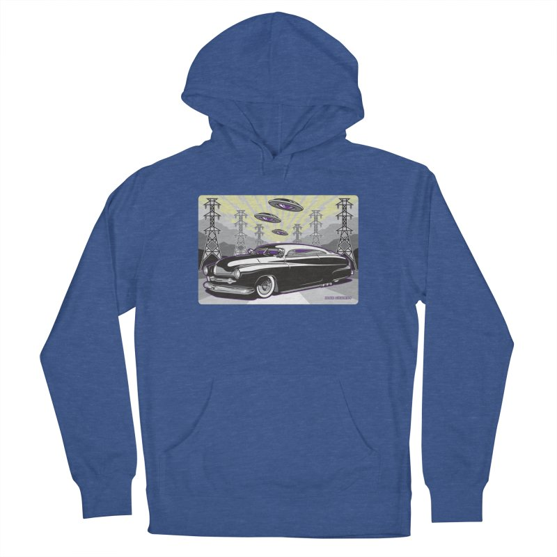 VIVA LAS WASTELAND Women's French Terry Pullover Hoody by Max Grundy Design's Artist Shop