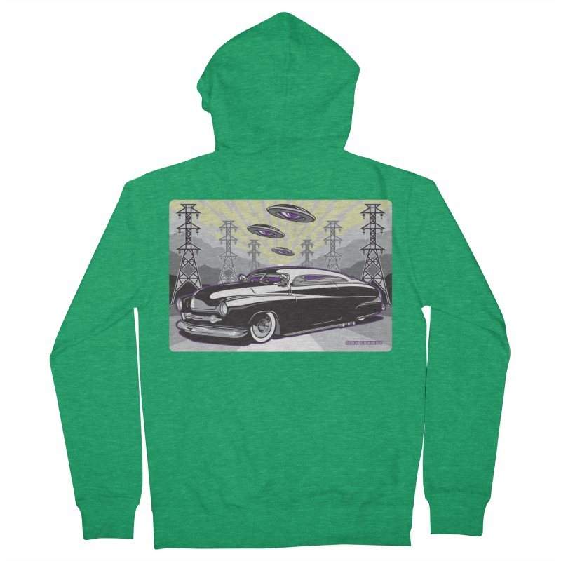 VIVA LAS WASTELAND Women's French Terry Zip-Up Hoody by Max Grundy Design's Artist Shop