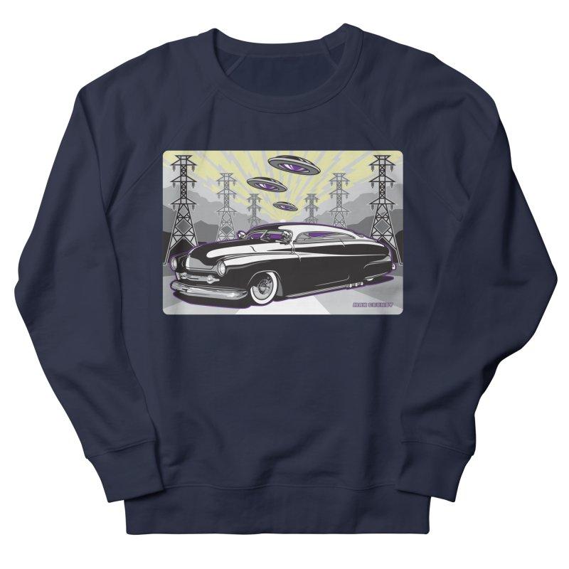 VIVA LAS WASTELAND Men's French Terry Sweatshirt by Max Grundy Design's Artist Shop
