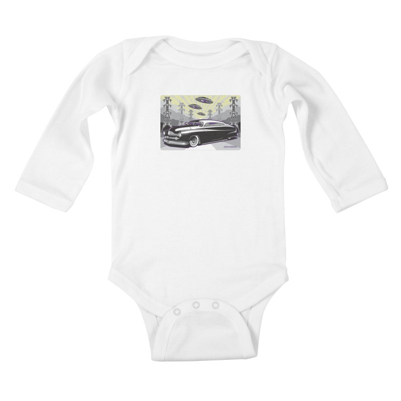 VIVA LAS WASTELAND Kids Baby Longsleeve Bodysuit by Max Grundy Design's Artist Shop