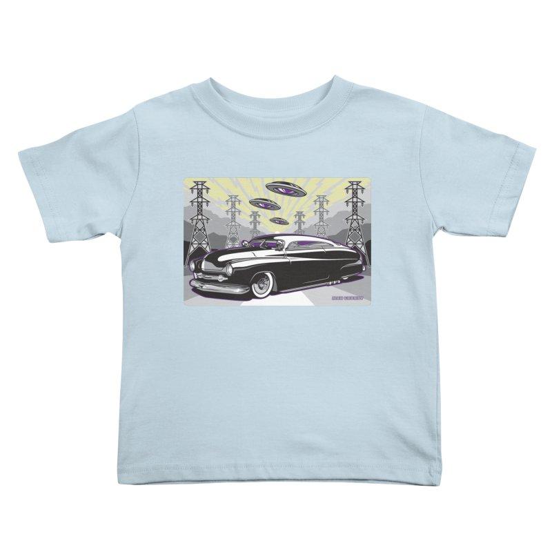 VIVA LAS WASTELAND Kids Toddler T-Shirt by Max Grundy Design's Artist Shop