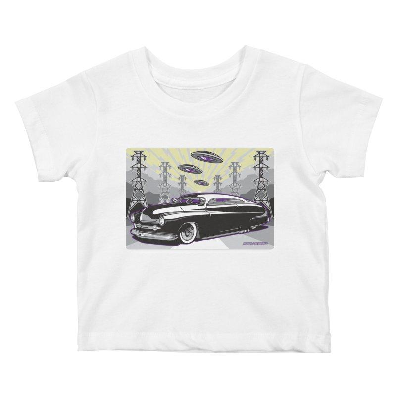 VIVA LAS WASTELAND Kids Baby T-Shirt by Max Grundy Design's Artist Shop