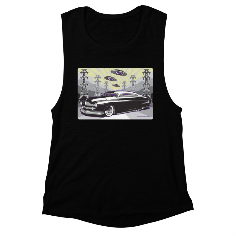 VIVA LAS WASTELAND Women's Muscle Tank by Max Grundy Design's Artist Shop